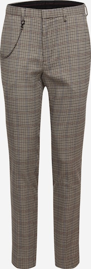 BURTON MENSWEAR LONDON Hose 'TP MULTI HOUSE CHECK' in grau: Frontalansicht