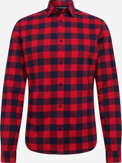 Marc O'Polo DENIM Hemd in nachtblau / rot, Produktansicht