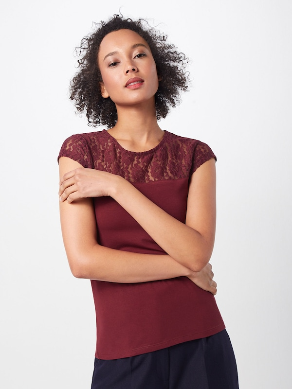 In Shirt In Bordeaux Shirt In Bordeaux 'emilie' 'emilie' Shirt 'emilie' Bordeaux f6Ygyb7v