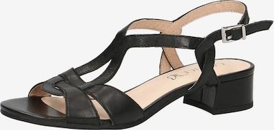 CAPRICE Sandalette in schwarz, Produktansicht