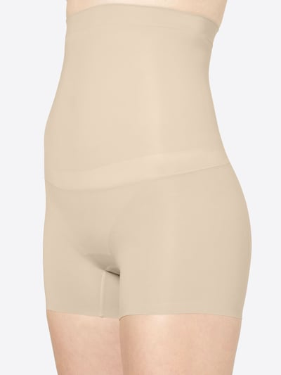 SPANX 'Shape my day' High Waist Shorts in nude: Frontalansicht