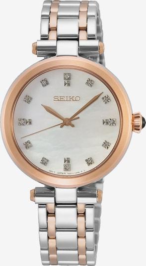 SEIKO Uhr in rosegold / silber, Produktansicht