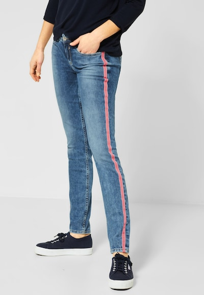 STREET ONE Jeans 'York' in blau, Modelansicht