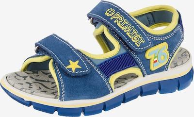 PRIMIGI Sandale in himmelblau / gelb, Produktansicht