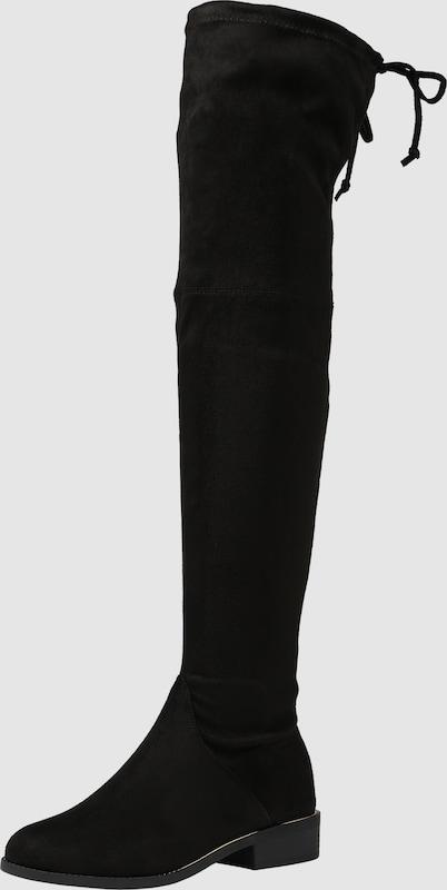NEW LOOK Stiefel 'RP18 SEASONALS DODDLE - METAL RAND OTK P - 91 Textil Lässig wild
