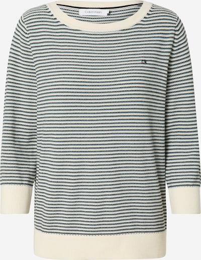 Calvin Klein Pull-over en bleu clair / noir / blanc, Vue avec produit