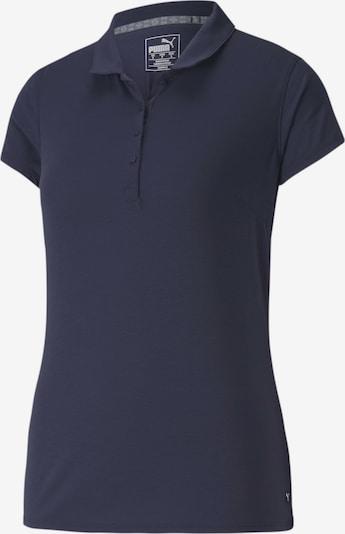 PUMA Poloshirt in dunkelblau, Produktansicht