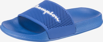 Champion Authentic Athletic Apparel Badeschuhe in blau / weiß, Produktansicht