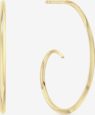 ID Fine Ohrringe 'Pacific Wave Hoops' in gold, Produktansicht