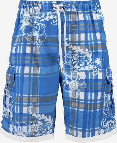 H.I.S Shorts de bain en bleu roi, Vue avec produit