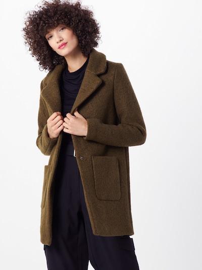 ICHI Mantel in oliv, Modelansicht