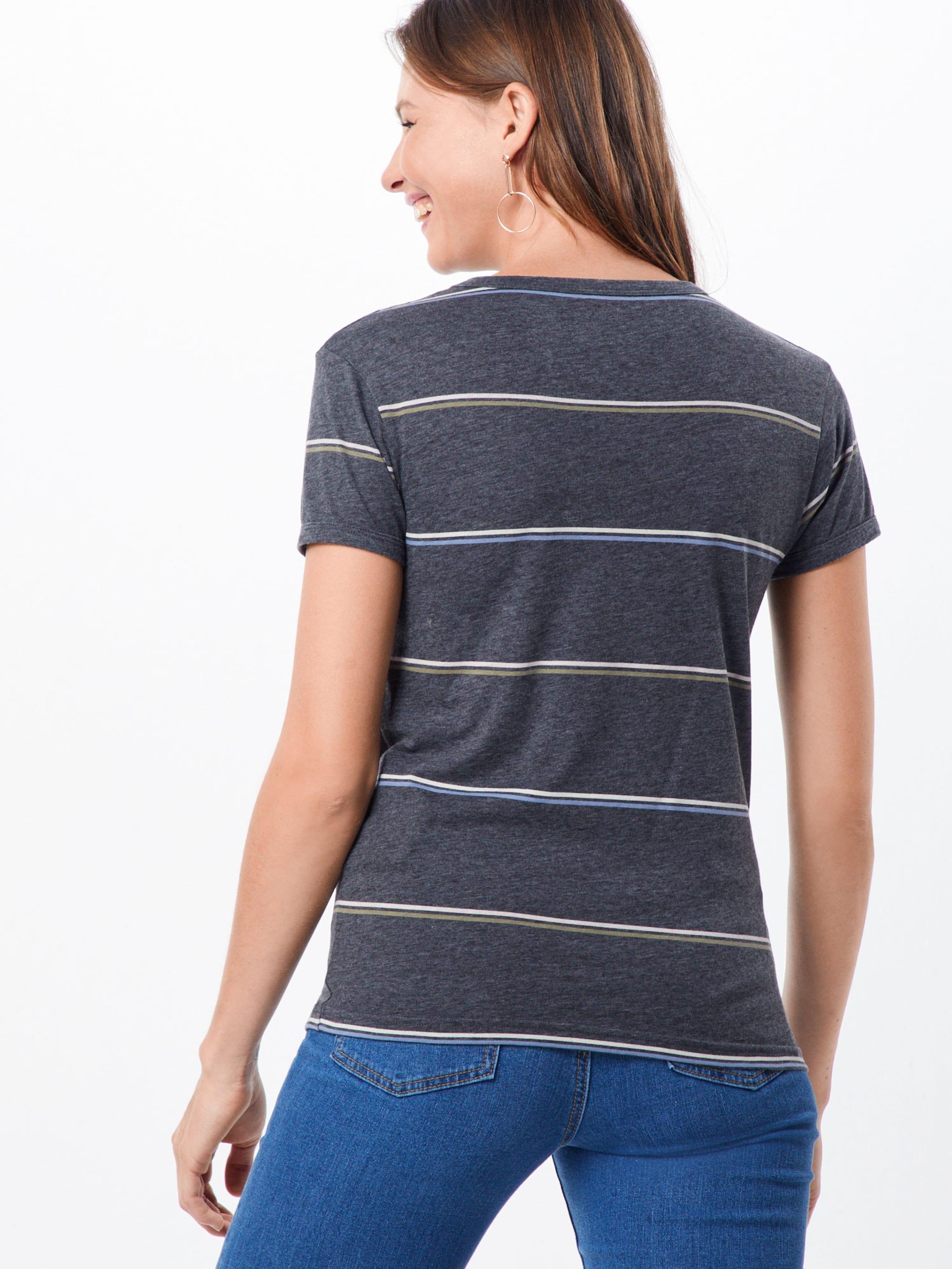 Billabong Dunkelgrau shirt T 'ringer' In 1JclKF