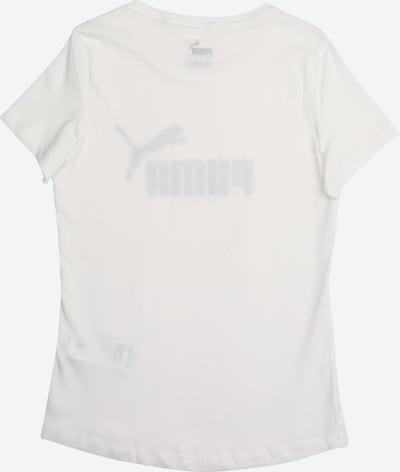 PUMA T-Shirt in schwarz / naturweiß: Rückansicht