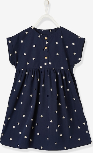 VERTBAUDET Kleid in blau / weiß, Produktansicht