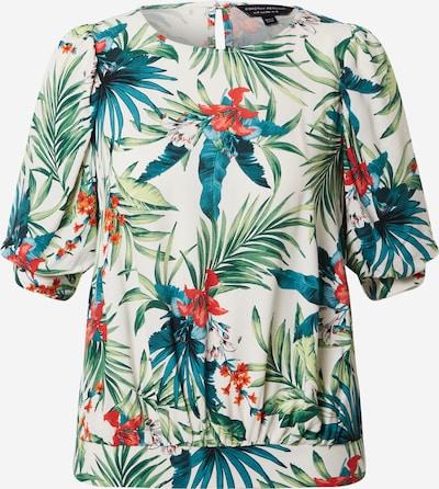 Dorothy Perkins Shirt in elfenbein / grün / petrol / karminrot, Produktansicht