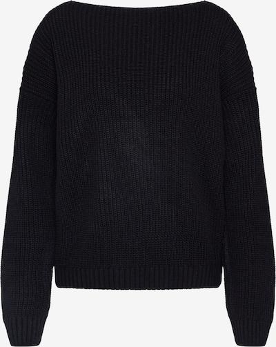 GLAMOROUS Pullover in schwarz, Produktansicht