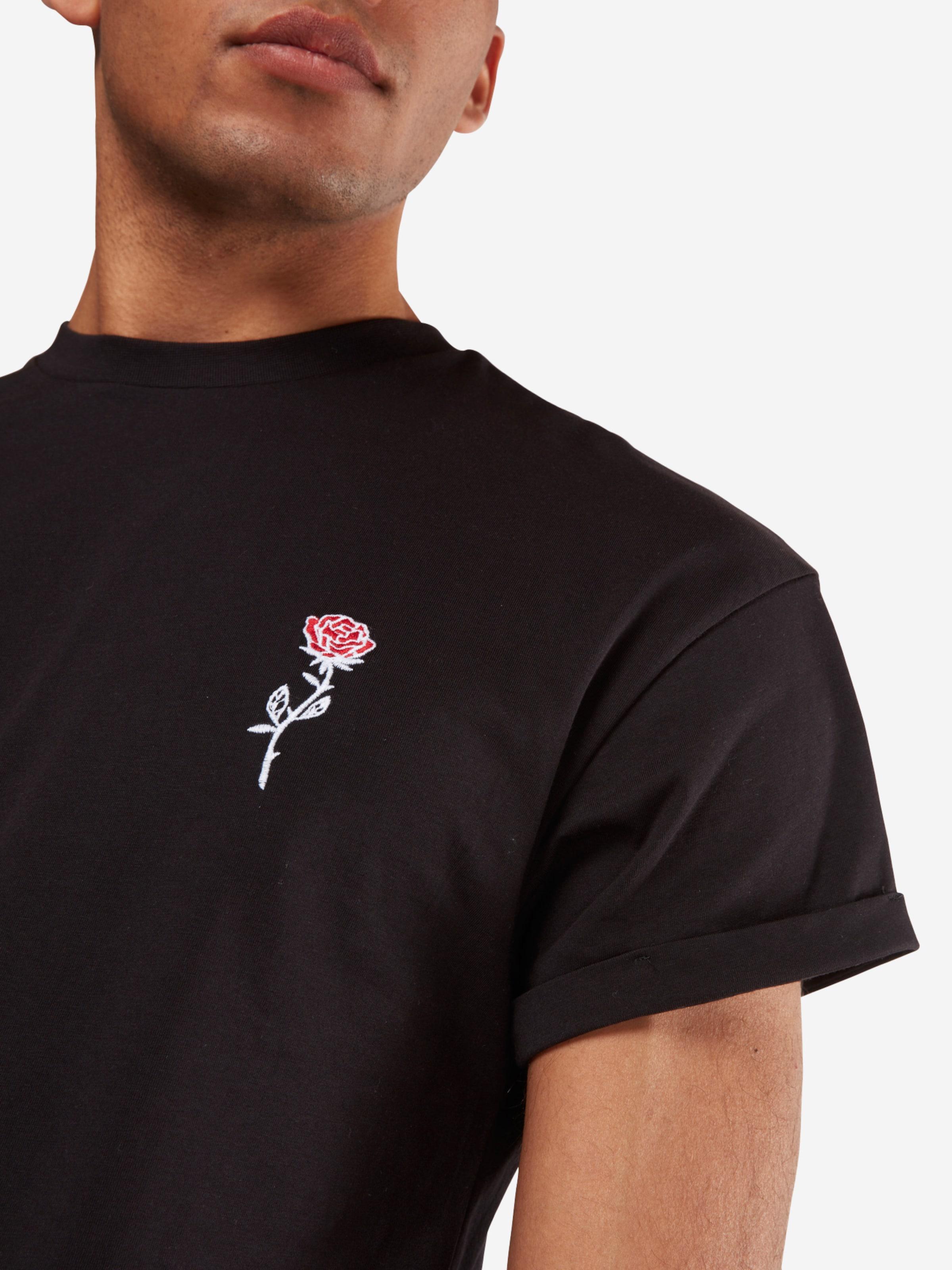 NEW LOOK T-Shirt 'RP 39 27.10 MW EMBROIDERED ROSE P' Billig Verkauf Breite Palette Von Steckdose Billigsten Spielraum Besten eUg1fRcr7e