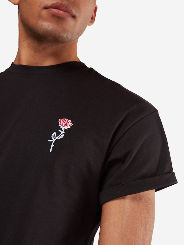 New Look T-shirt Rp 39 27.10 Mw Embroidered Rose P