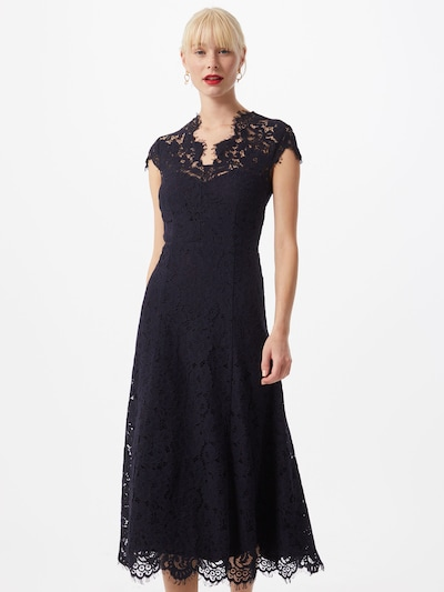 IVY & OAK Kleid 'Lace' in dunkelblau, Modelansicht