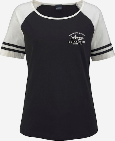 ARIZONA Shorty in schwarz / weiß, Produktansicht