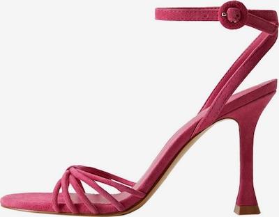 MANGO Sandalen met riem 'Morgan' in de kleur Fuchsia, Productweergave