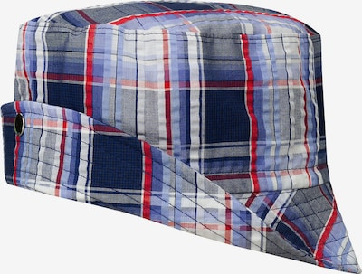 DÖLL Hut in blau / rot / weiß: Frontalansicht