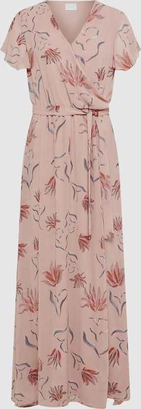 VILA Kleid'VISAFFA NANDI S S MAXI DRESS' in Rosa  Neuer Aktionsrabatt