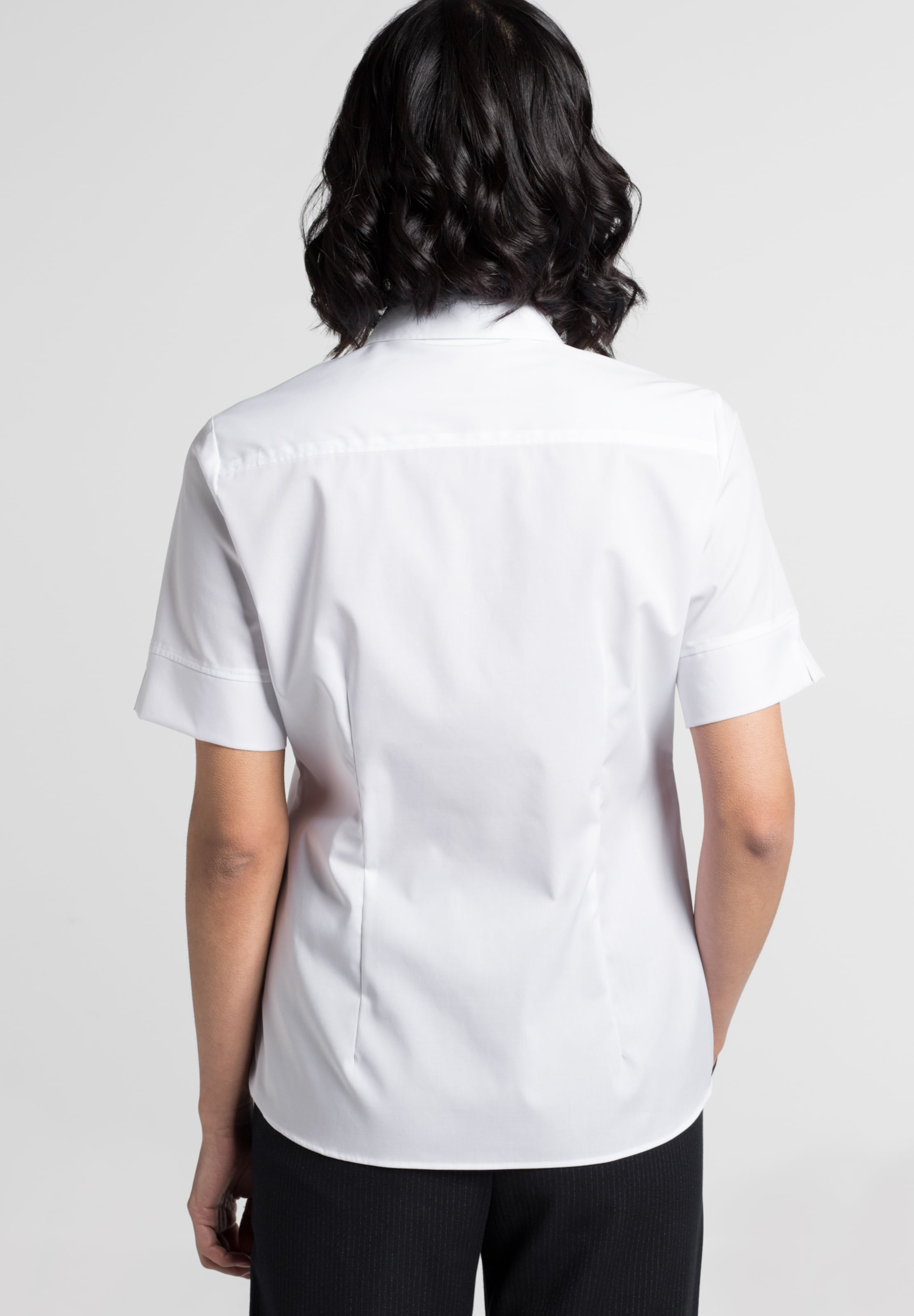 'modern Weiß In Eterna Classic' Bluse rBoWCexd