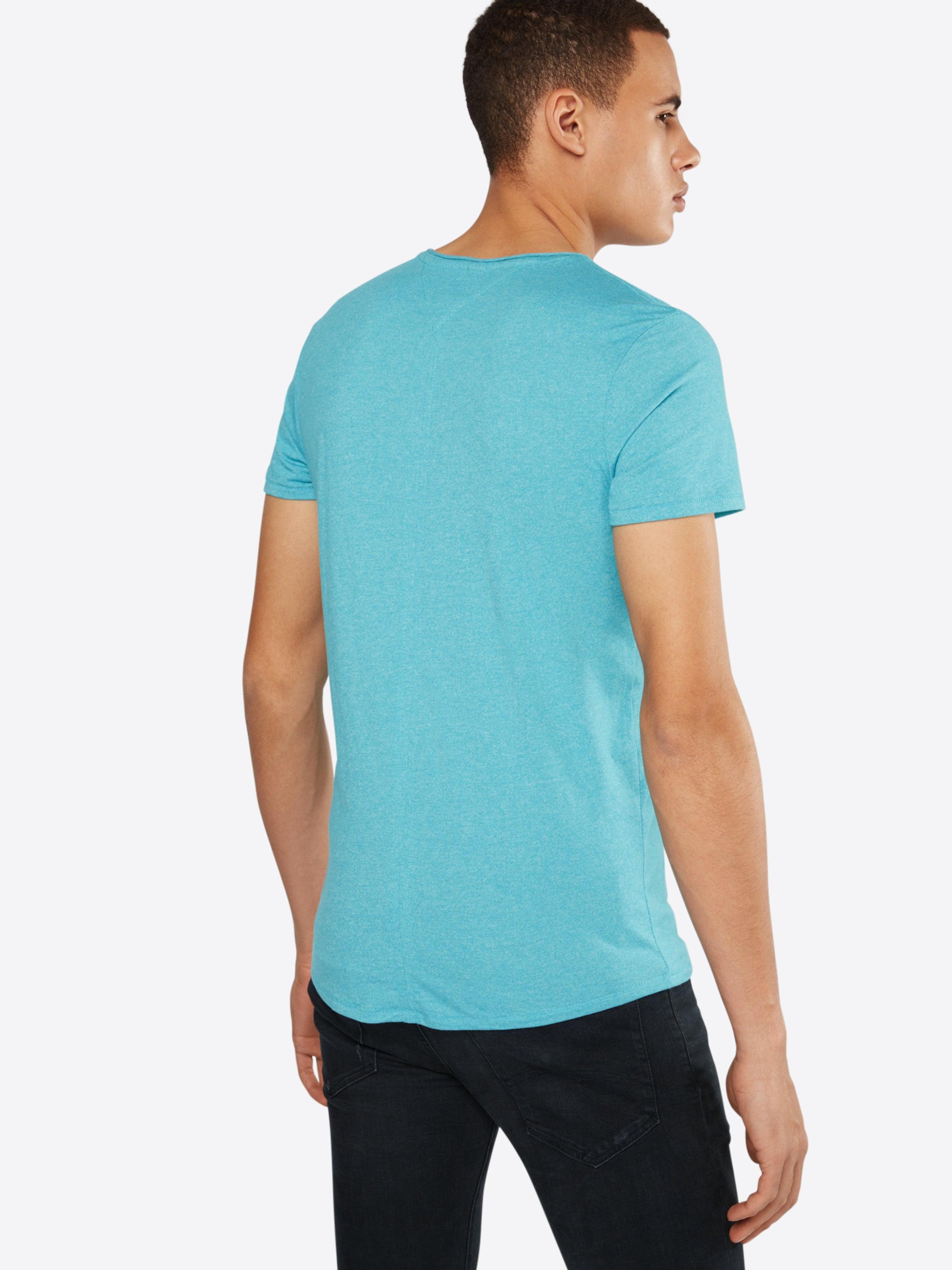 Tommy Jeans T-Shirt in Melange-Design Freies Verschiffen Erhalten Authentisch Beliebt Und Billig Finden Große Günstig Online ZkBBR7BD3