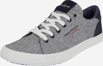 TOM TAILOR Sneakers laag in de kleur Blauw / Grijs / Wit, Productweergave