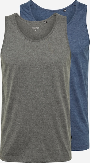BURTON MENSWEAR LONDON Shirt in blau / basaltgrau, Produktansicht