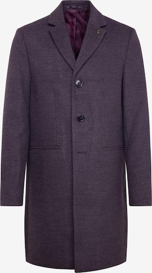 BURTON MENSWEAR LONDON Manteau mi-saison 'charcoal faux crombie mid' en gris, Vue avec produit