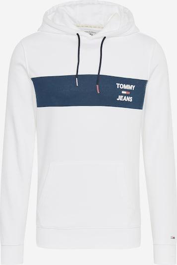 Bluză de molton Tommy Jeans pe albastru / alb, Vizualizare produs
