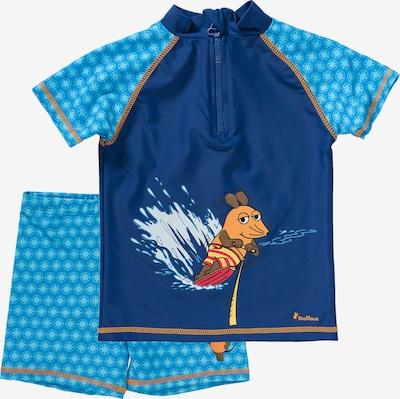 PLAYSHOES Schwimmanzug in blau, Produktansicht