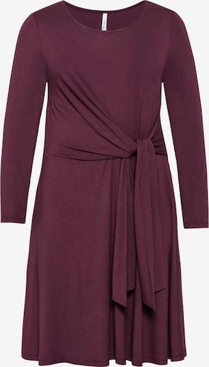 sheego style Kleid in beere, Produktansicht