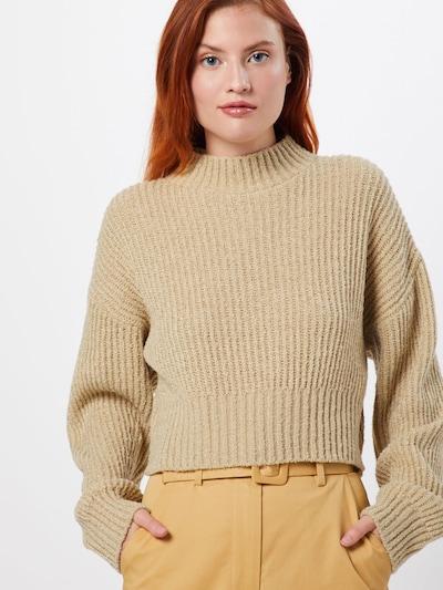 GLAMOROUS Pullover 'LC1037' in beige, Modelansicht