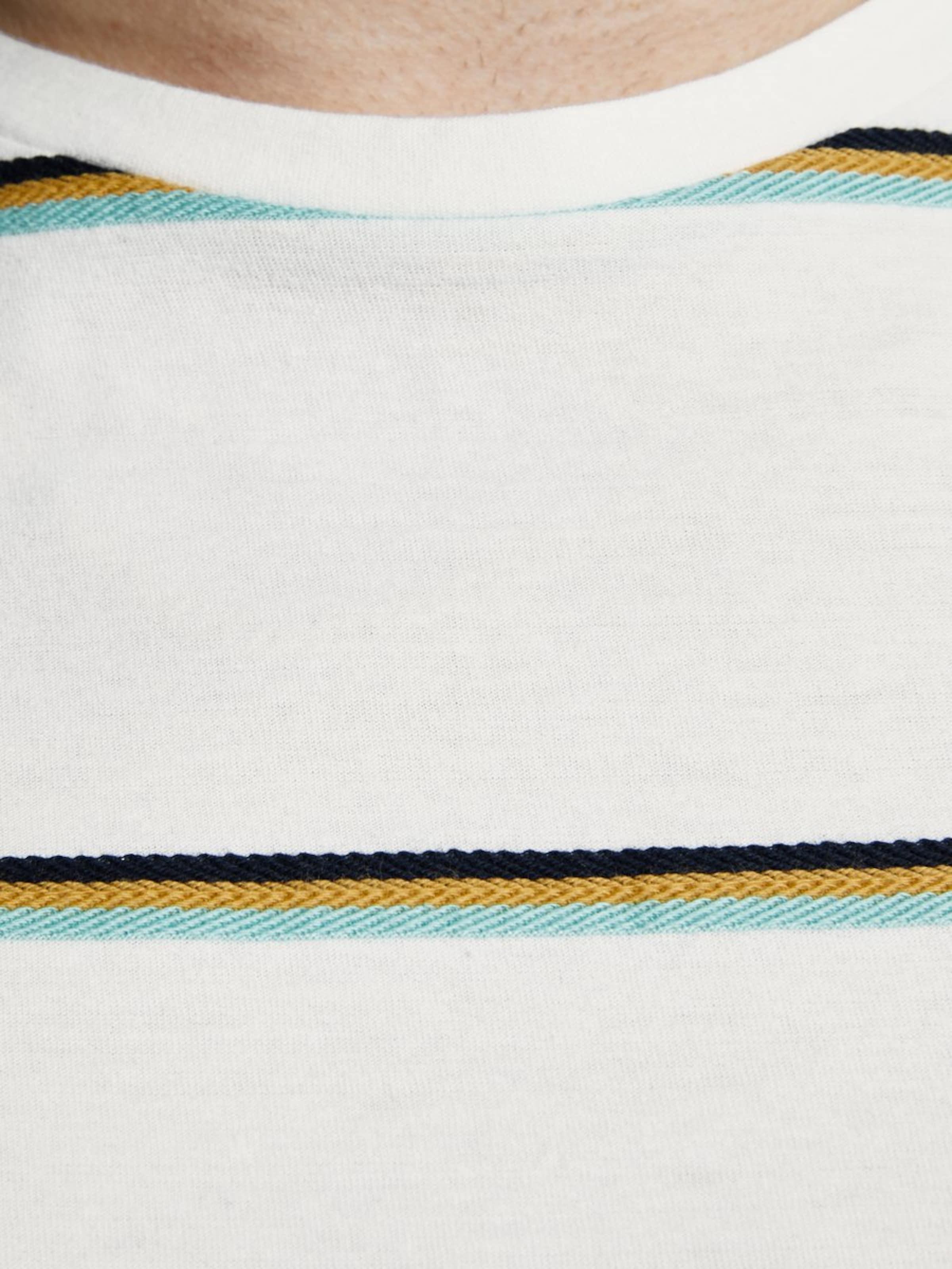 Gestreiftes shirt Jackamp; Weiß Jones T In 7IYfbv6gy