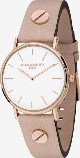Liebeskind Berlin Montre à affichage analogique 'LT-0163-LQ' en beige / or rose, Vue avec produit