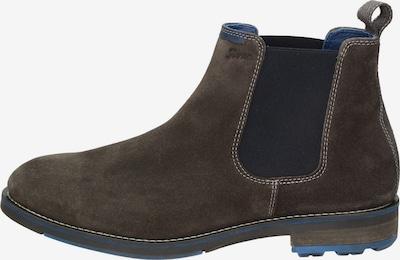 SIOUX Stiefelette in dunkelblau / dunkelbraun, Produktansicht