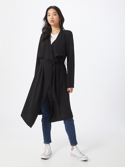 OBJECT Mantel 'Objannlee' in schwarz, Modelansicht