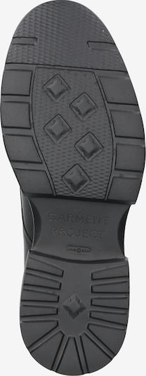 Garment Project Bottes à lacets 'Mili Lace Boot' en noir: Vue de dessous