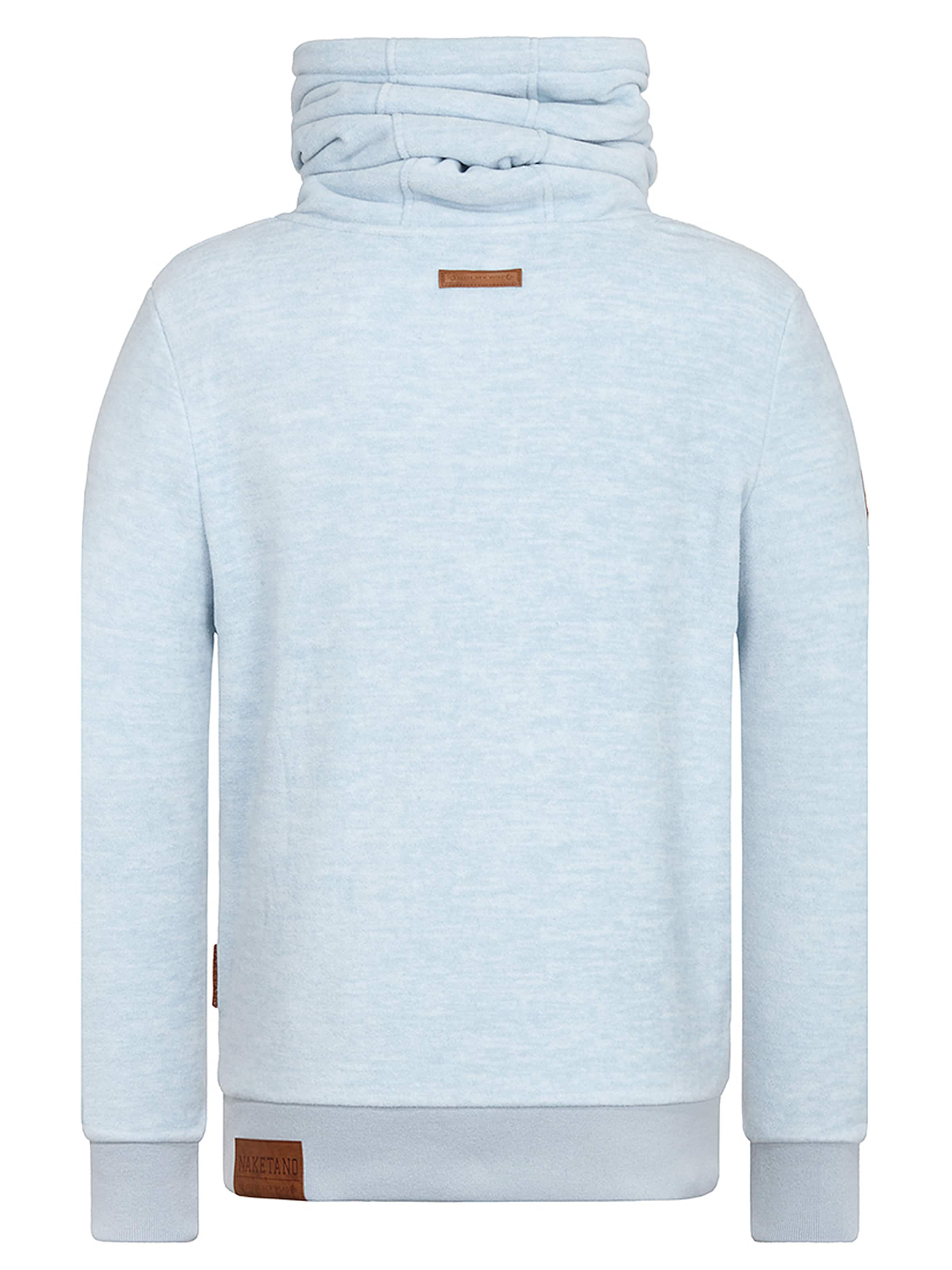 Naketano Clair En Sweat shirt Bleu dCQtshrx