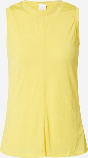 BOSS Top 'Tims' w kolorze żółtym, Podgląd produktu