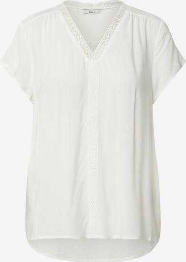 ONLY T-shirt 'Jessa' en blanc cassé: Vue de face