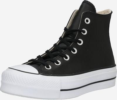 CONVERSE Hög sneaker 'CHUCK TAYLOR ALL STAR LIFT CLEAN - HI' i svart, Produktvy