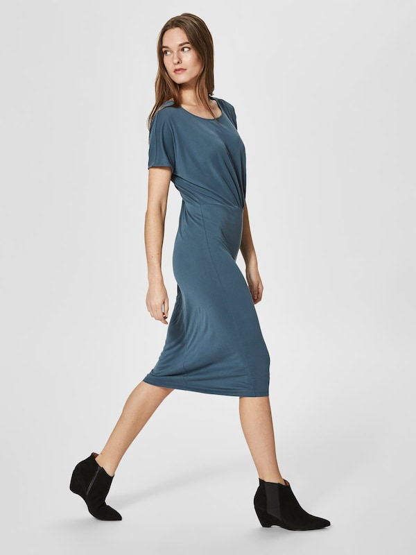 Selected Femme Modal Mix-dress With Short Sleeves