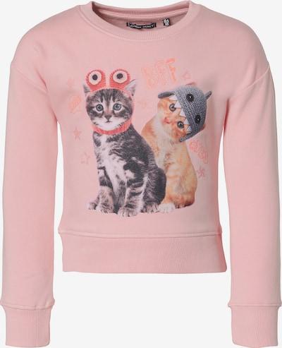 LEMON BERET Sweatshirt in grau / orange / rosa, Produktansicht