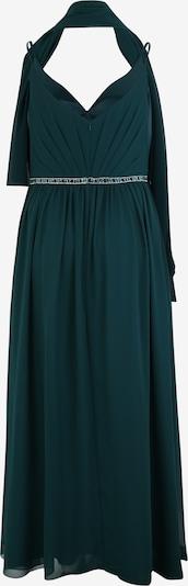 Rochie de seară 'PLEAT FRONT' My Mascara Curves pe smarald: Privire spate