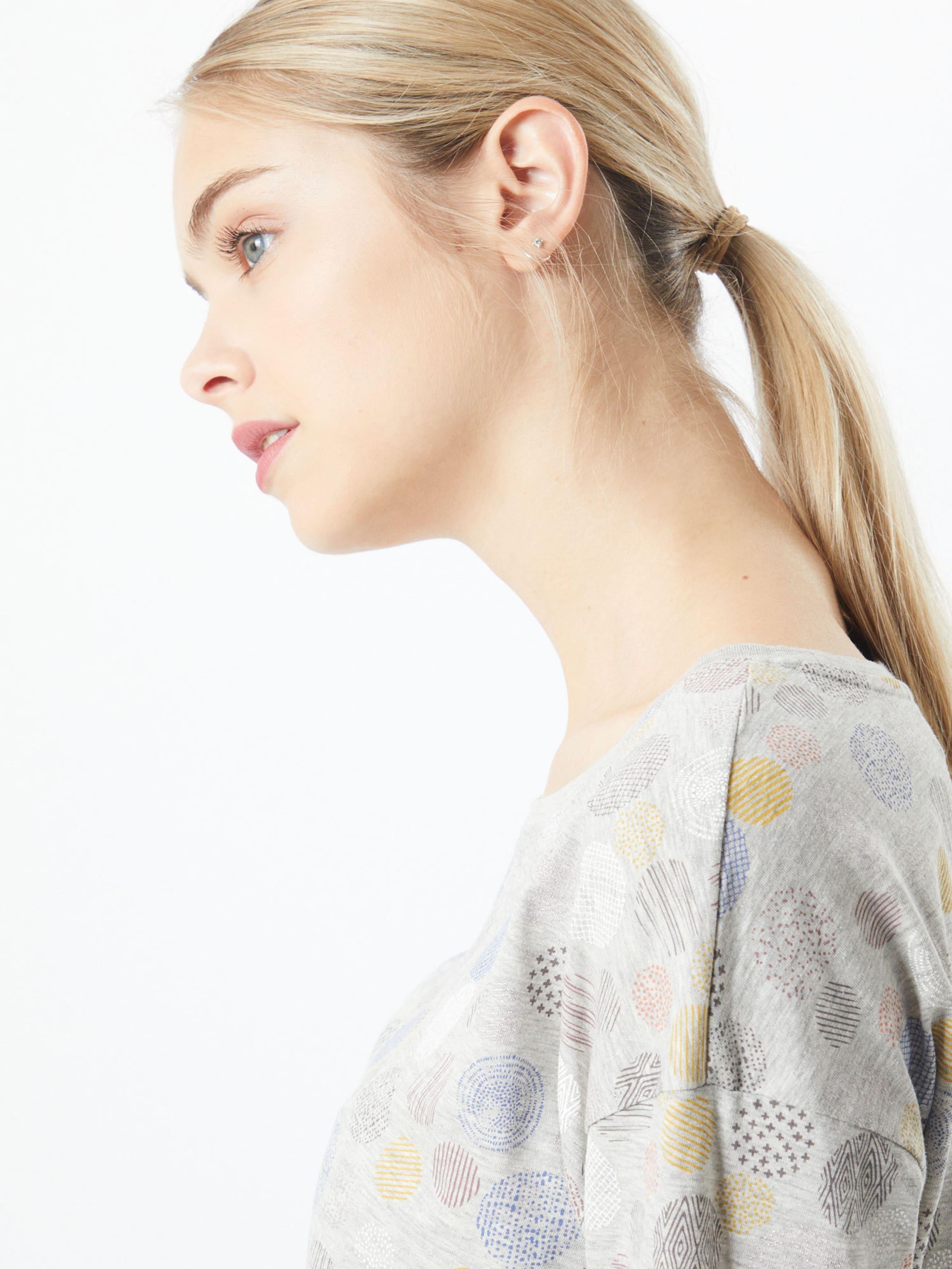 ESPRIT Póló világosszürke színben