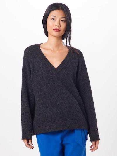 SELECTED FEMME Pullover 'LANNA' in dunkelgrau, Modelansicht